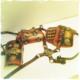 Steampunk tyylinen iso olka-käsivari panssari erikois koristeluin, Deluxe malli