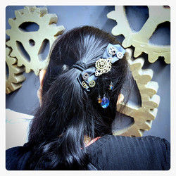 Hair Decor with Steampunk style