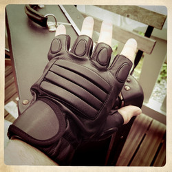 Post Apocalyptic Fingerless Gloves, Warrior, Raider, Motorbiker