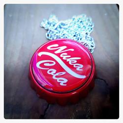 Pendant / Bottle openet, NCola Cap