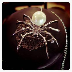Spider Decor Brooch