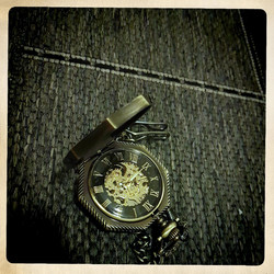 Mechanical Pocket Watch in Octacon casing