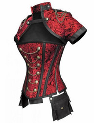 Corset & Bolero set with small bags
