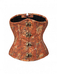 Corset in Steampunk way with Harder metal bones