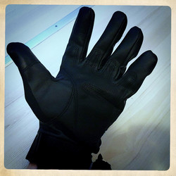 AirSoft / Tactical PU leather Glove, Touch Screen