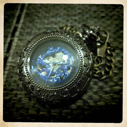 Mechanical Pocket Watch  Black colour