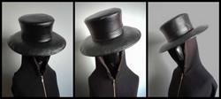 Ruttotohtorin hattu erikoisvalmisteinen