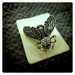 Fly Bug Brooch