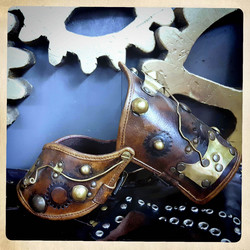 Steampunk Bracer for Arm & Elbow or used as a gauntlet