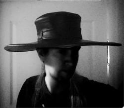 Leveälierinen Hattu, käsinvalmistettu, nahkaa, ruttotohtorihattu, cowboy