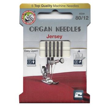 Ompelukoneneula: Organ Jersey 80/12