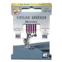 Ompelukoneneula: Organ Microtex 70/10