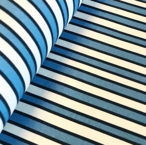 WCollection, luomutrikoo: Vertical stripes, sininen