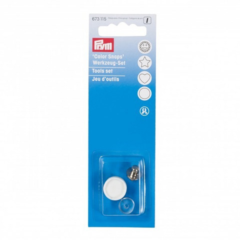 Prym: Työkalut Snaps -neppareille 12,4mm