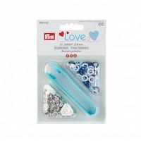 Prym: Love Jersey neppari 8mm + työvälineet: Siniset