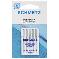 Ompelukoneneula: Schmetz Overlock EL x 705 CF SUK 65/9