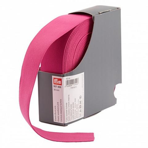 Prym: Bokserikuminauha 38mm, pinkki