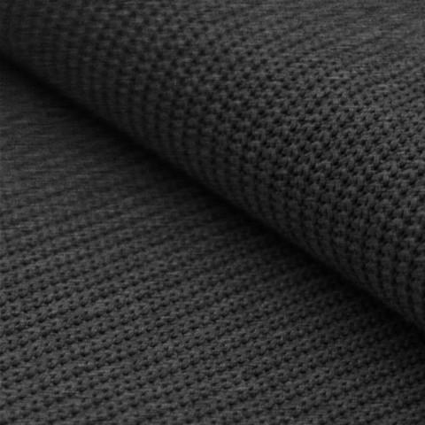 Neulos: Big knit, meleerattu harmaa