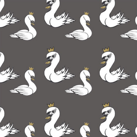 WCollection, luomutrikoo: Swan, gray