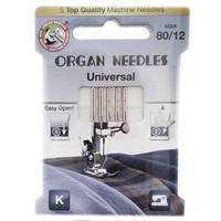 Ompelukoneneula: Organ Universal 80/12