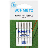 Ompelukoneneula: Schmetz Top Stitch 80/12