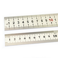 Teräsviivain 50cm 28mm