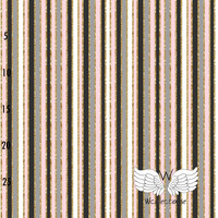 WCollection, luomutrikoo: Vertical stripes, vaaleanpunainen
