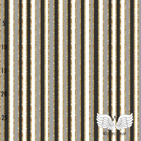 WCollection, luomutrikoo: Vertical stripes, harmaa