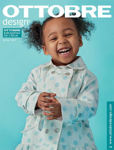 Ottobre design: Kids fashion 50-170cm, kevät 1/2019