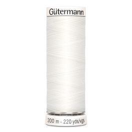 Gütermann ompelulanka 200m: Valkoinen 800