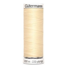 Gütermann ompelulanka 200m: Vaalea nude 610