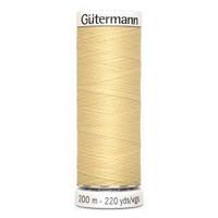 Gütermann ompelulanka 200m: Vaaleankeltainen 325