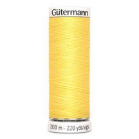 Gütermann ompelulanka 200m: Keltainen 852