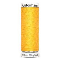 Gütermann ompelulanka 200m: Keltainen 417