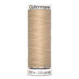Gütermann ompelulanka 200m: Beige 186