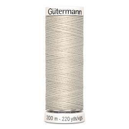 Gütermann ompelulanka 200m: Vaalea beige 299