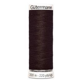 Gütermann ompelulanka 200m: Tumman ruskea 696