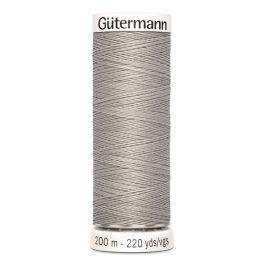 Gütermann ompelulanka 200m: Harmaa 118