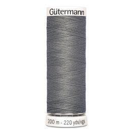 Gütermann ompelulanka 200m: Harmaa 496