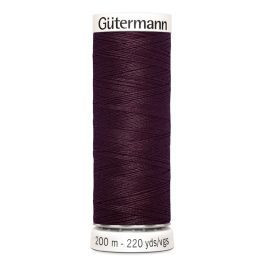 Gütermann ompelulanka 200m: Viininpunainen 130