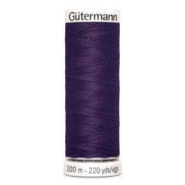 Gütermann ompelulanka 200m: Tummanvioletti 257