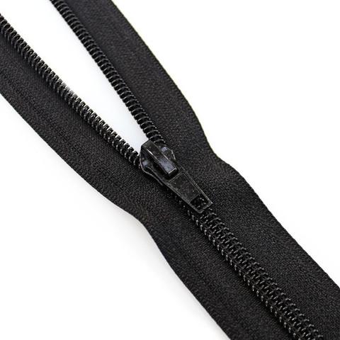 Metrivetoketju spiraali 6mm, musta ja valkoinen, 1m