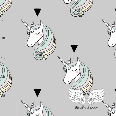 WCollection, luomutrikoo: Unicorn, pastelli