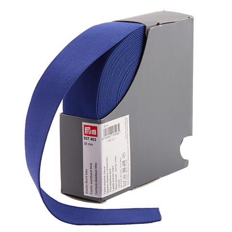 Prym: Bokserikuminauha 38mm, sininen