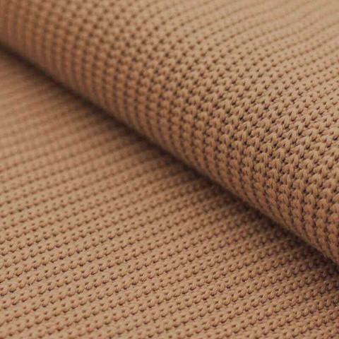 Neulos: Big knit, camel