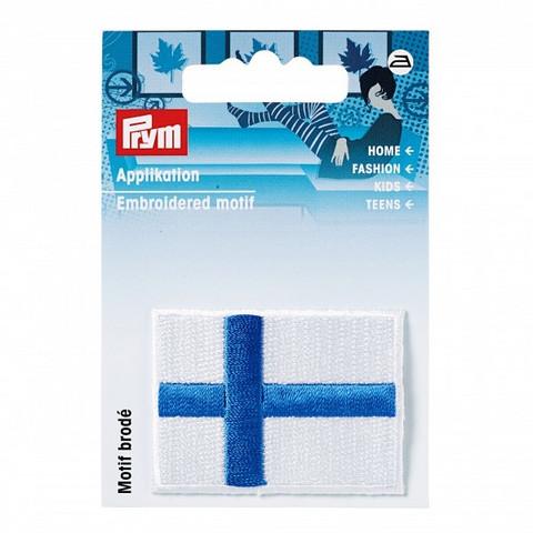 Prym: Silitettävä Suomenlippu -kangasmerkki