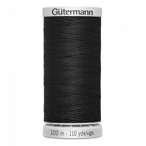 Gütermann erikois vahva 100m: Musta 000