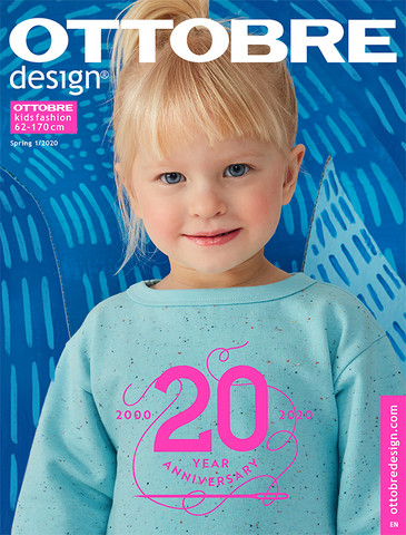 Ottobre design: Kids fashion 62-170cm, kevät 1/2020