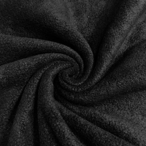 Polar fleece: Musta