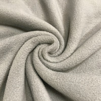 Polar fleece: Vaaleanharmaa